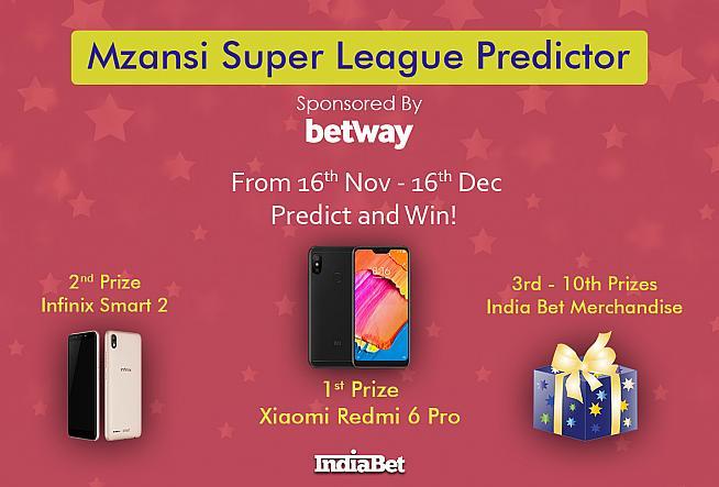 Mzansi Super League - A Predictor and a Challenge, sponsored